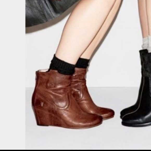 Frye Shoes | Frye Carson Wedge Bootie